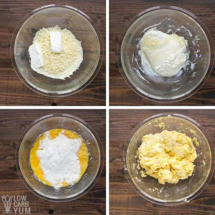coconut flour fathead dough