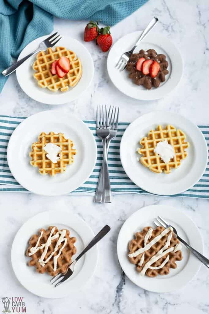 dairy free keto low carb waffles