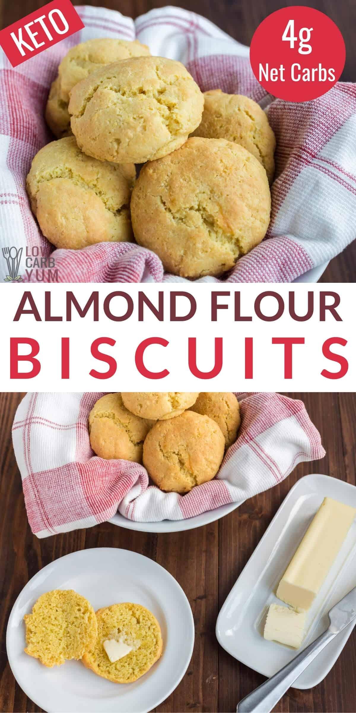 keto almond flour biscuits recipe