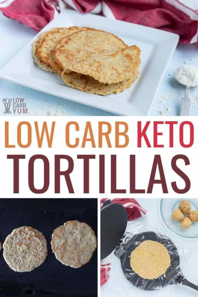 low carb coconut flour tortillas recipe