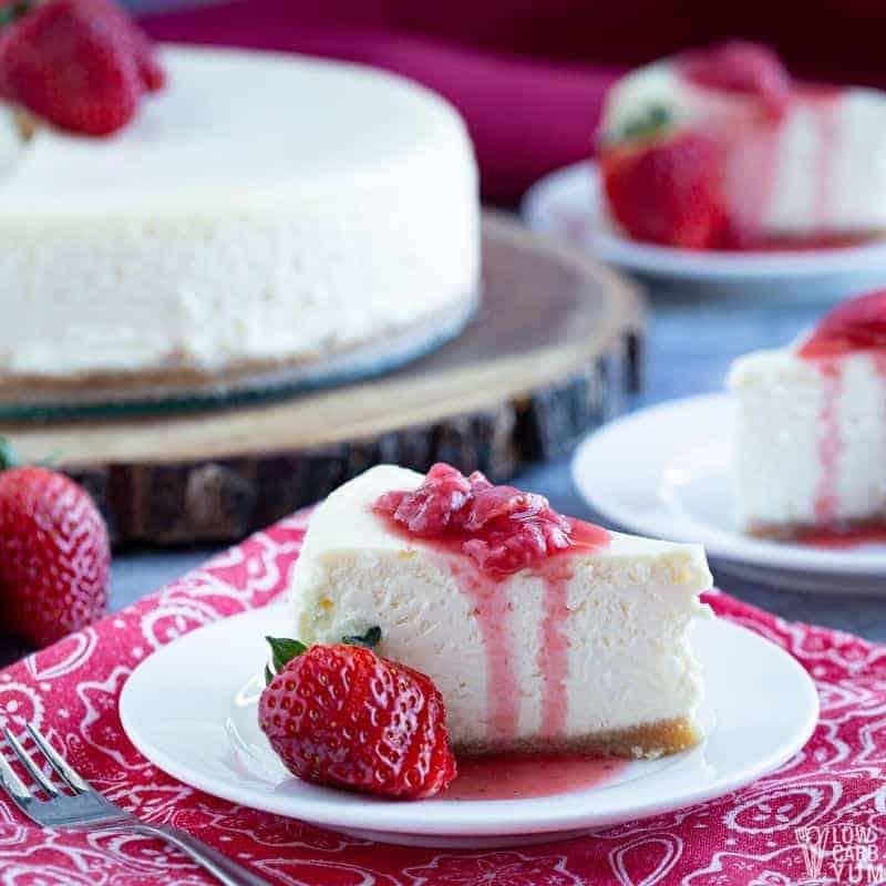 Cheesecake – prăjitură fină cu brânză – Rețete LCHF