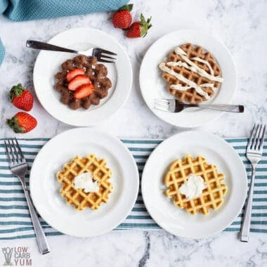 low carb keto waffles recipe