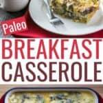 paleo breakfast casserole recipe