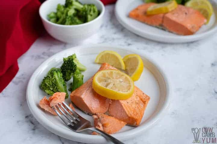 flaked instant pot salmon
