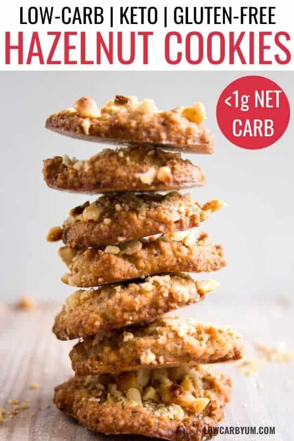 hazelnut flour cookies recipe