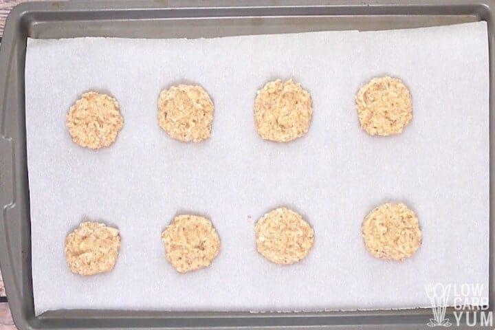 hazelnut flour cookies