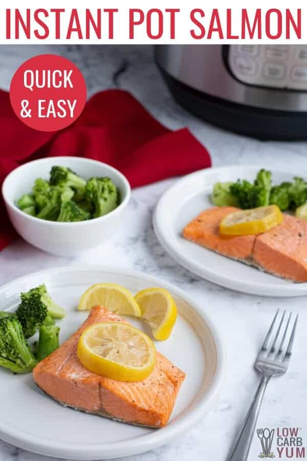 quick and easy instant pot salmon recipe