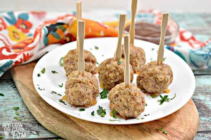 sausage balls appetizer