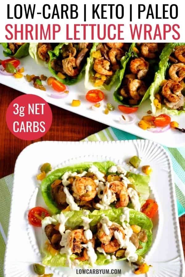 shrimp lettuce wraps recipe