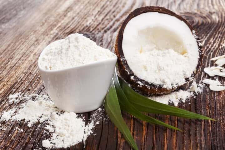 coconut flour dish