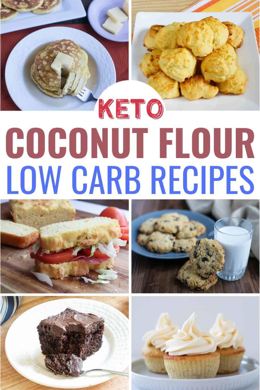 keto coconut flour low carb recipes