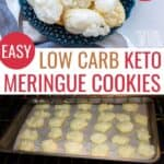 keto meringue cookies