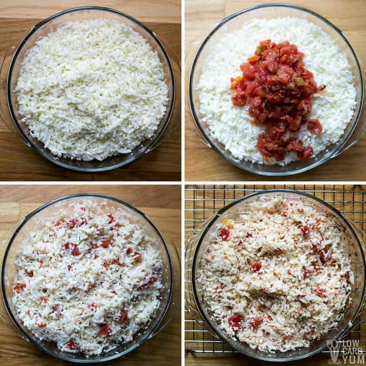preparation steps for side dish