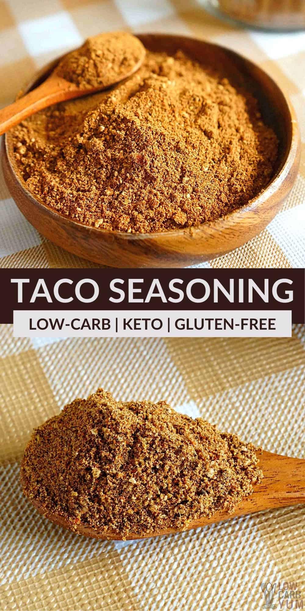 keto taco seasoning pinterest image