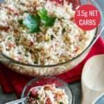 Easy Mexican cauliflower rice recipe