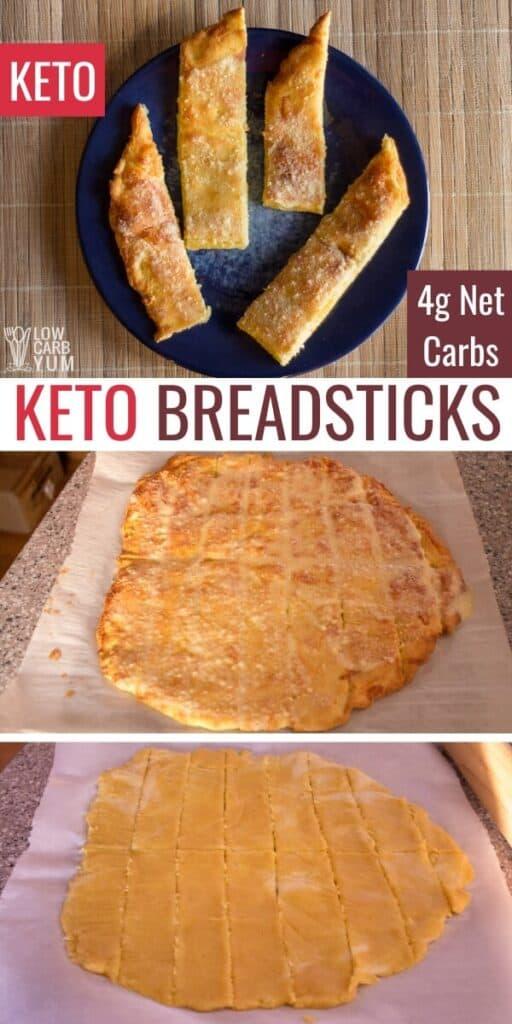 fathead keto breadsticks