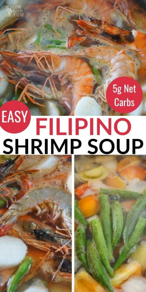 Filipino shrimp soup