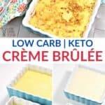 Low Carb Keto Creme Brulee