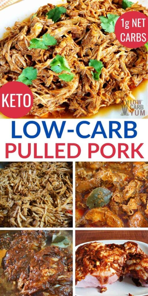 low carb keto pulled pork