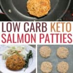 low carb keto salmon patties recipe