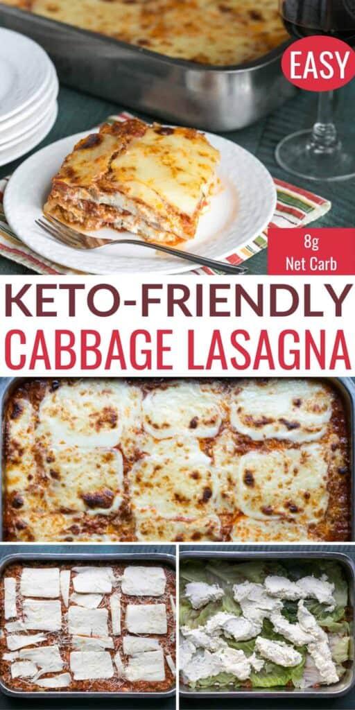 keto cabbage lasagna recipe