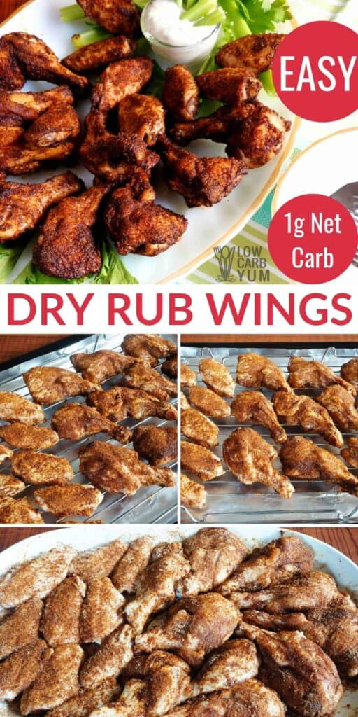 dry rub wings