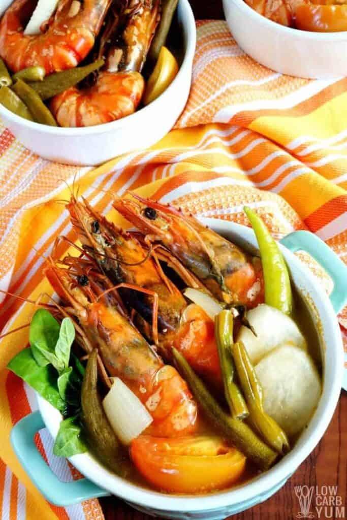 filipino shrimp soup