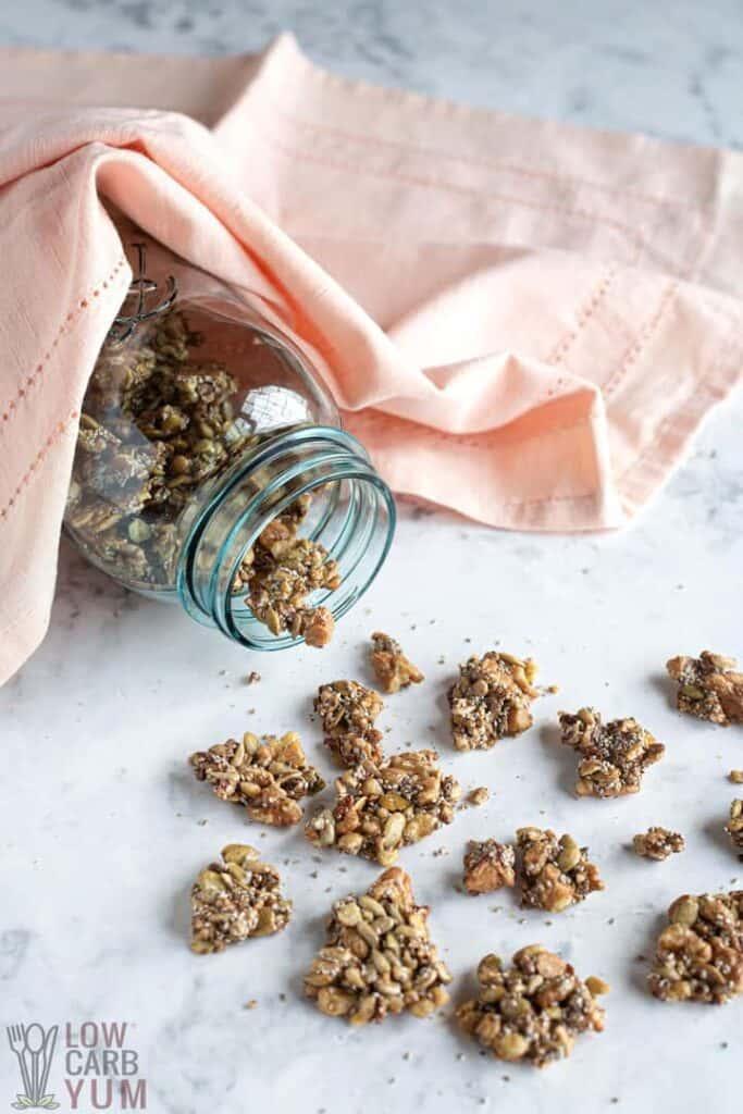 keto granola recipe