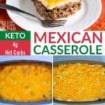 keto mexican casserole recipe