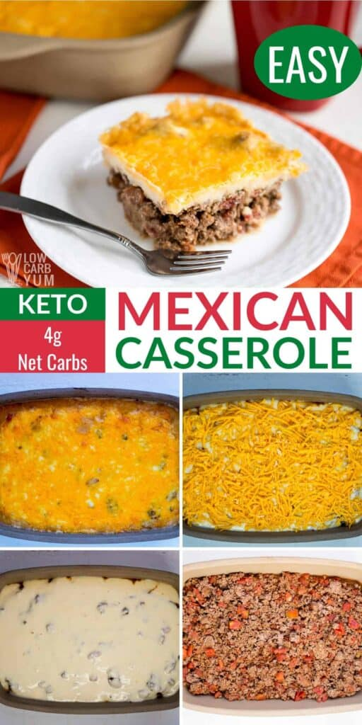keto mexican casserole recipe