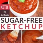 keto sugar free ketchup recipe