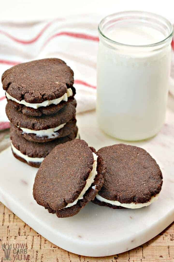 low carb keto oreos