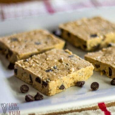 low carb protein bars recipe