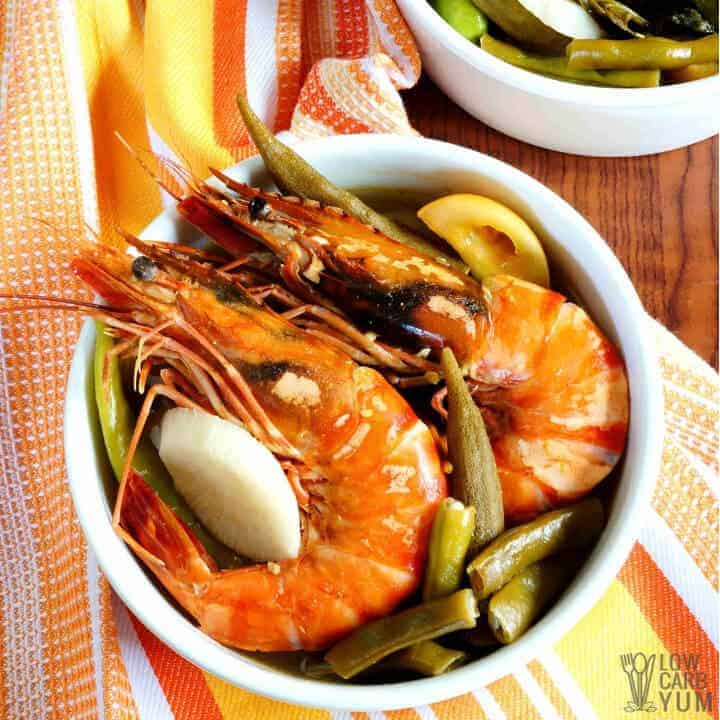 shrimp sinigang soup