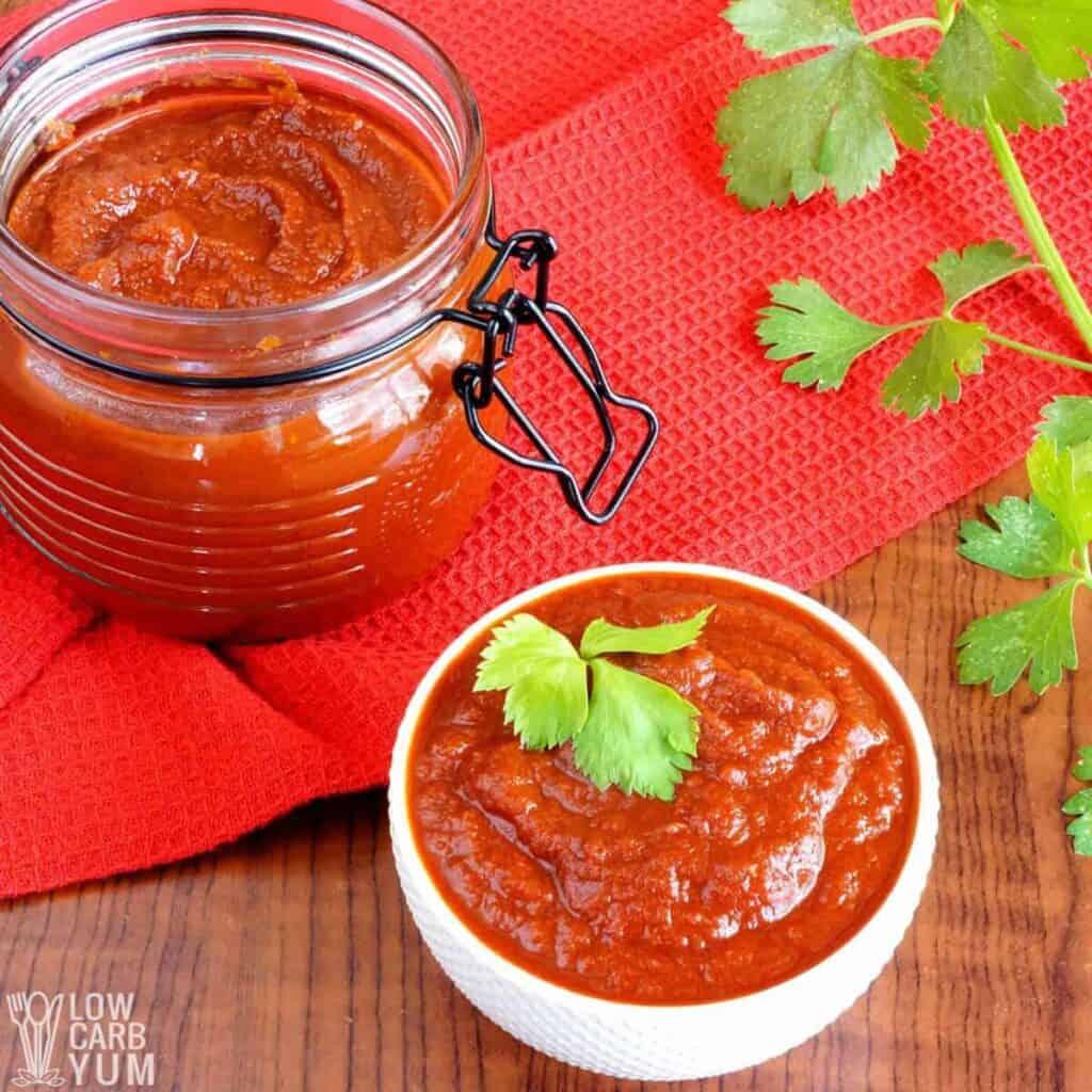 sugar free ketchup recipe