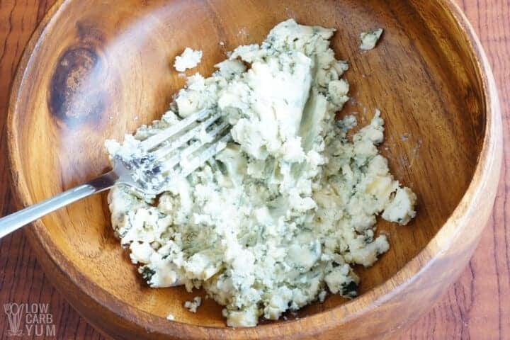 blue cheese mash