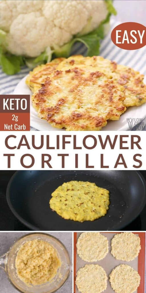 Cauliflower Tortillas Recipe