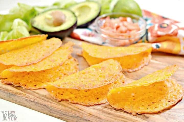 cheese taco shells