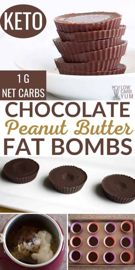 chocolate peanut butter fat bombs recipe
