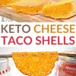 keto cheese taco shells