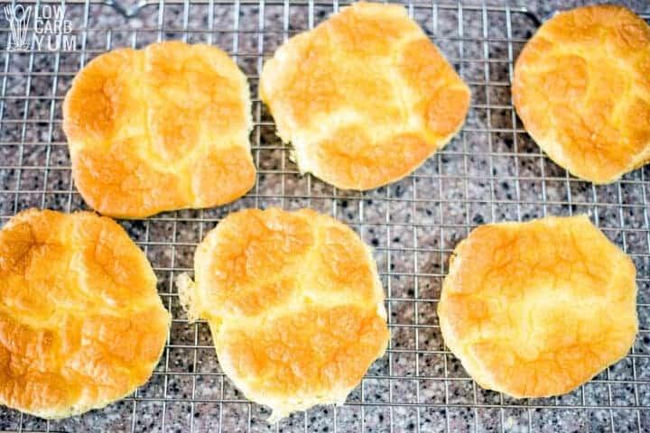 keto cloud bread cooling rack