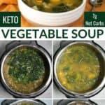 keto vegetable soup recipe