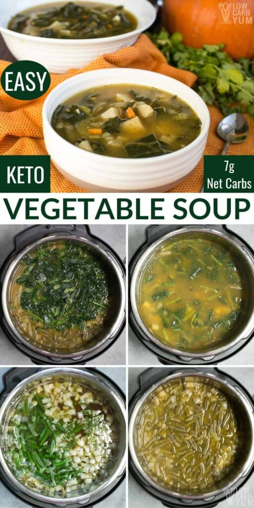 keto vegetable soup recipe