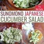 sunomono japanese cucumber salad