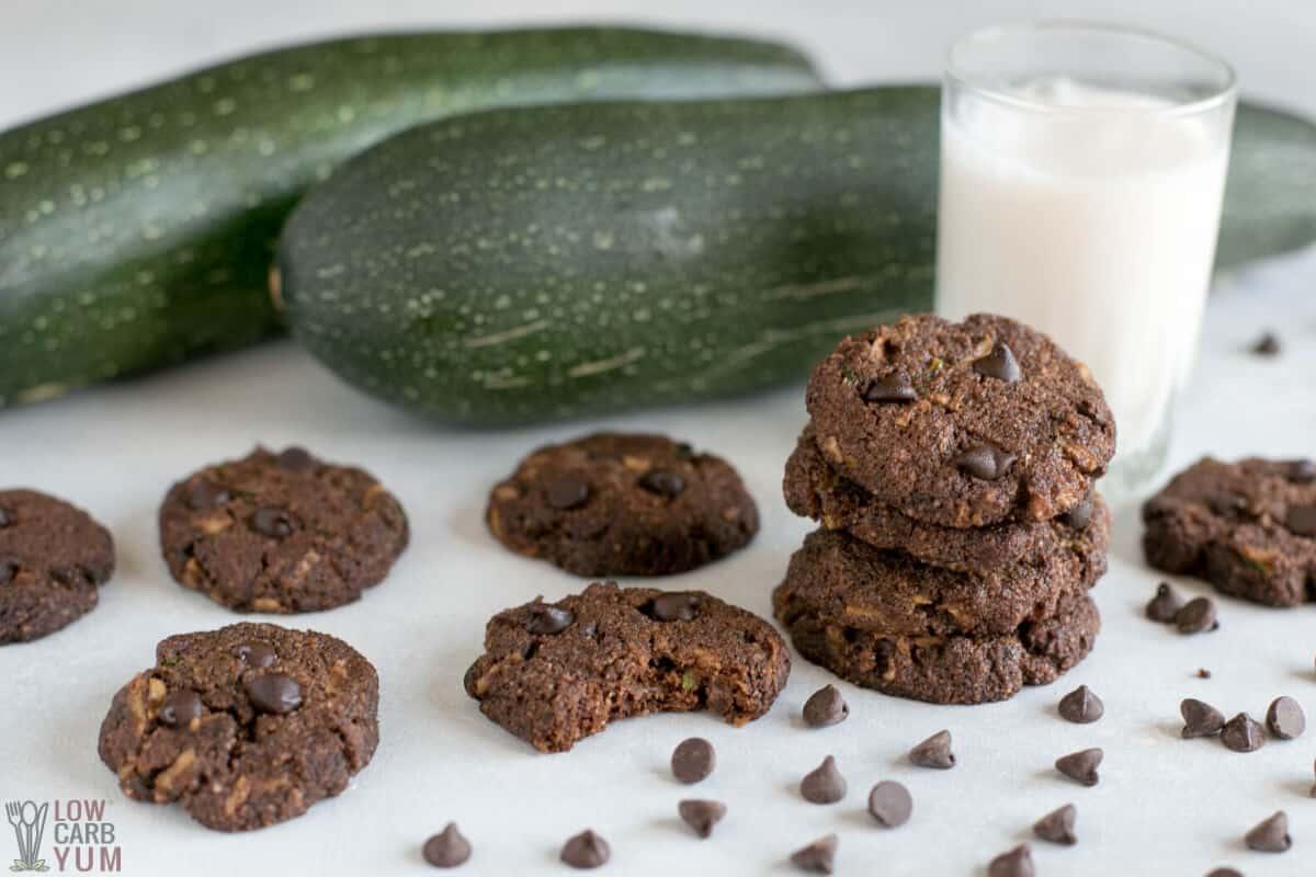 choc zucchini cookies recipe