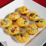 ham and cheese frittata muffins