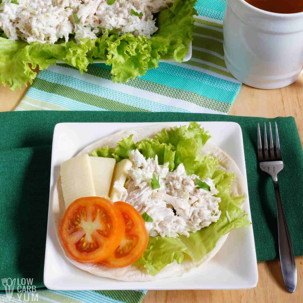 Easy Keto Chicken Salad With Mayo Low Carb Yum