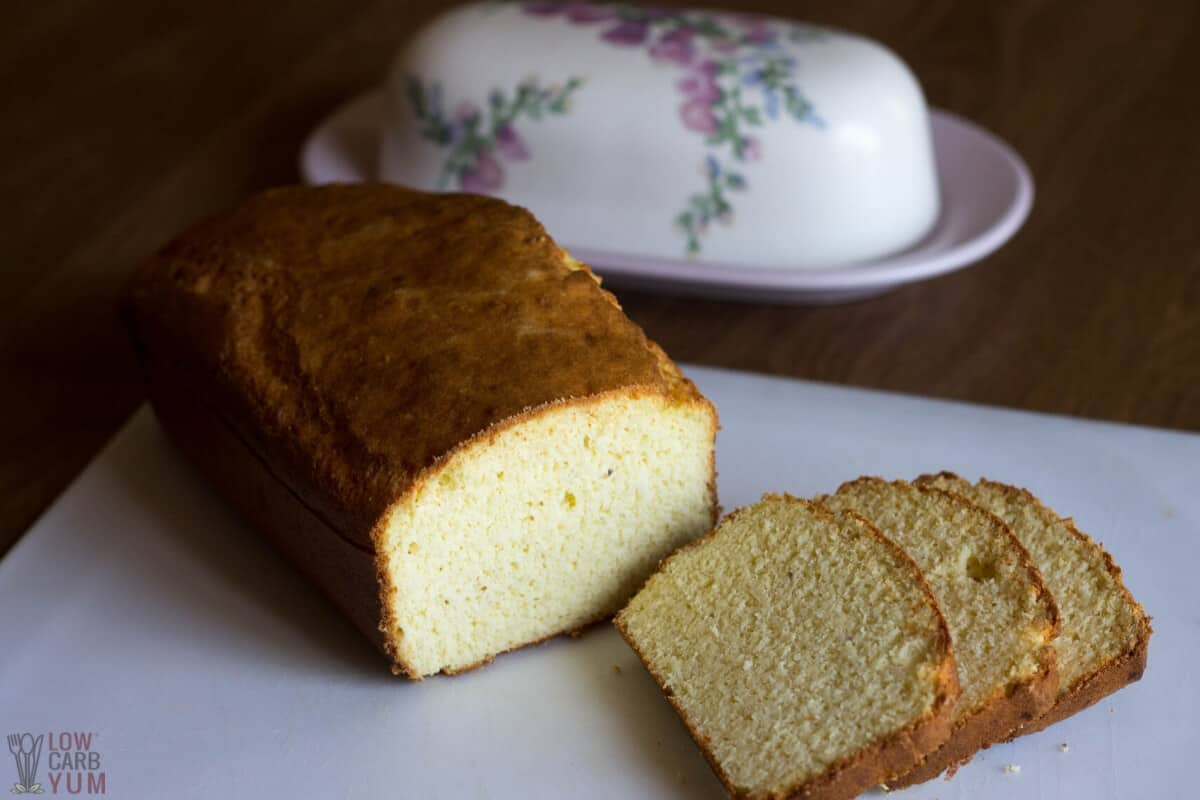 Fathead Keto Cream Cheese Bread Loaf Low Carb Yum
