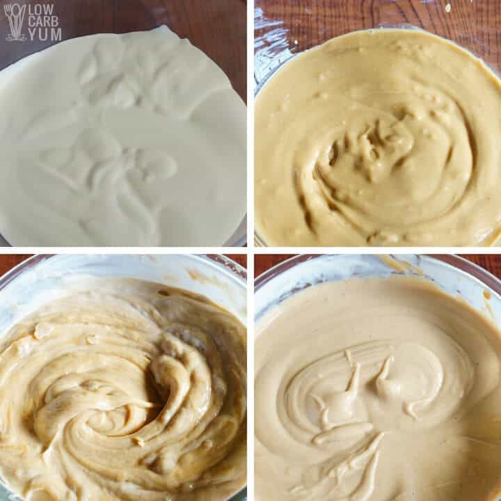 peanut butter mousse mix