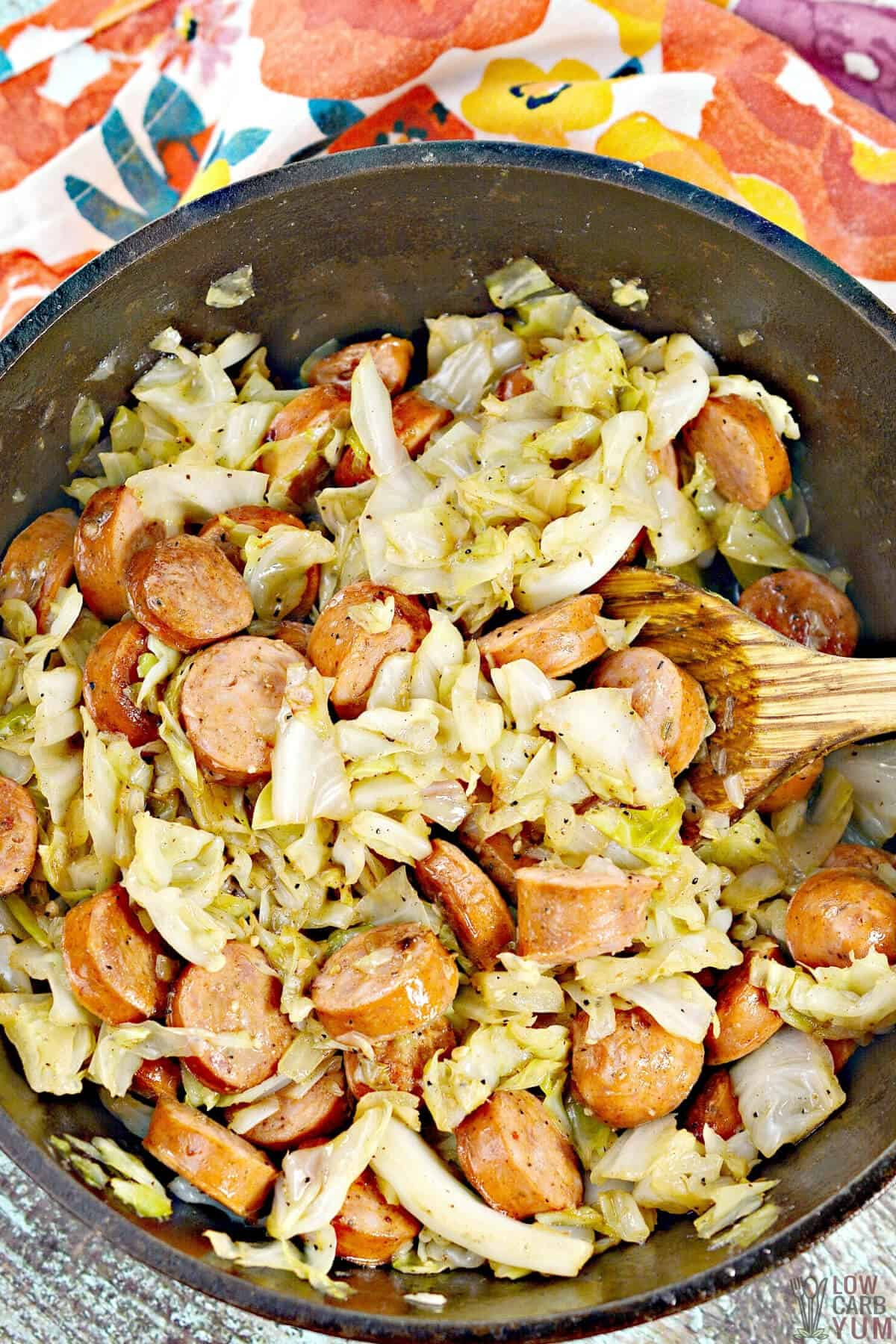 sausage and cabbage recipe